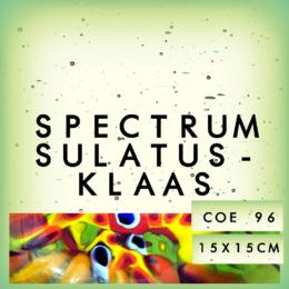 15x15cm Spectrum sulatusklaas
